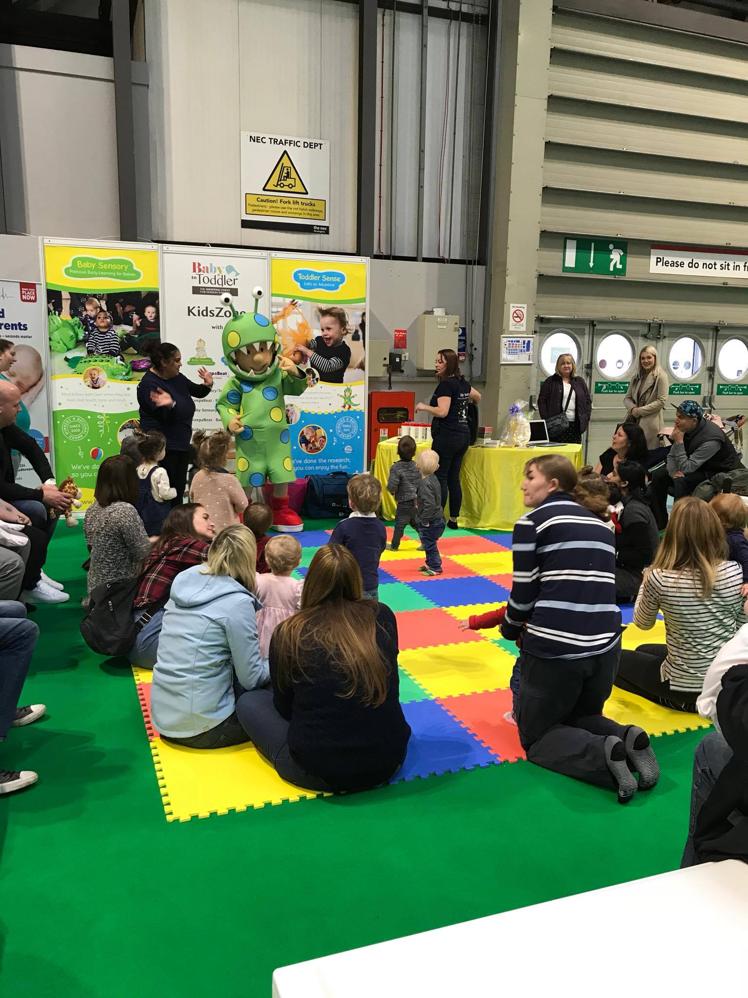 Toddler Sense Attend December NEC Baby to Toddler Show