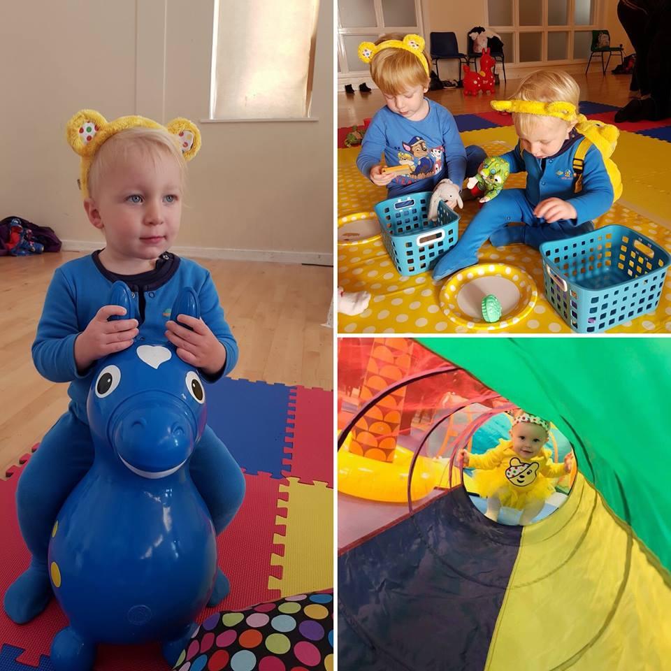 Toddler Sense Fundraises For Children in Need