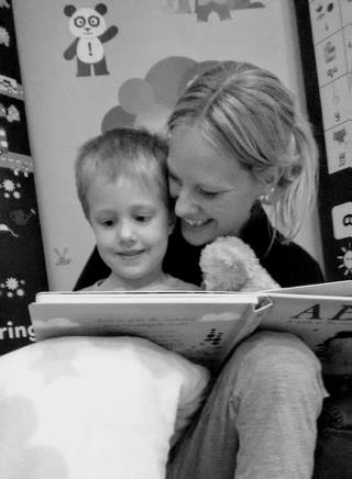 Reading Fairy with Elizabeth and Gemma