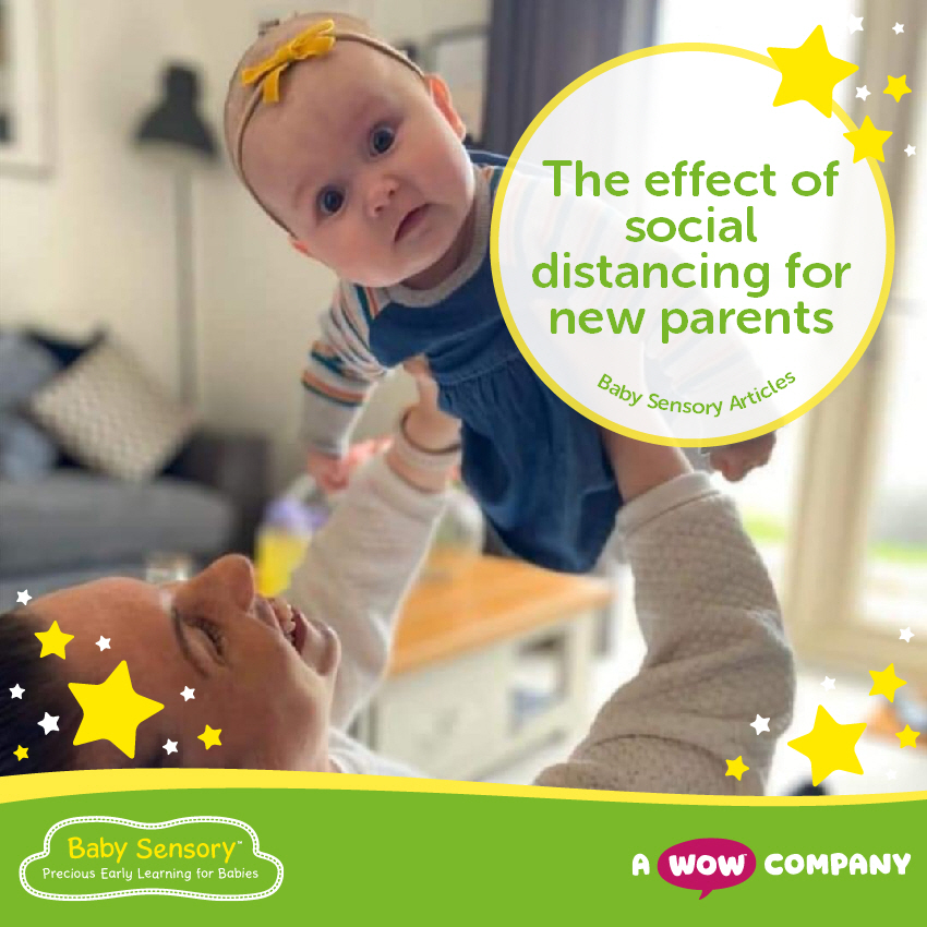 The Effect of Social Distancing on New Parents