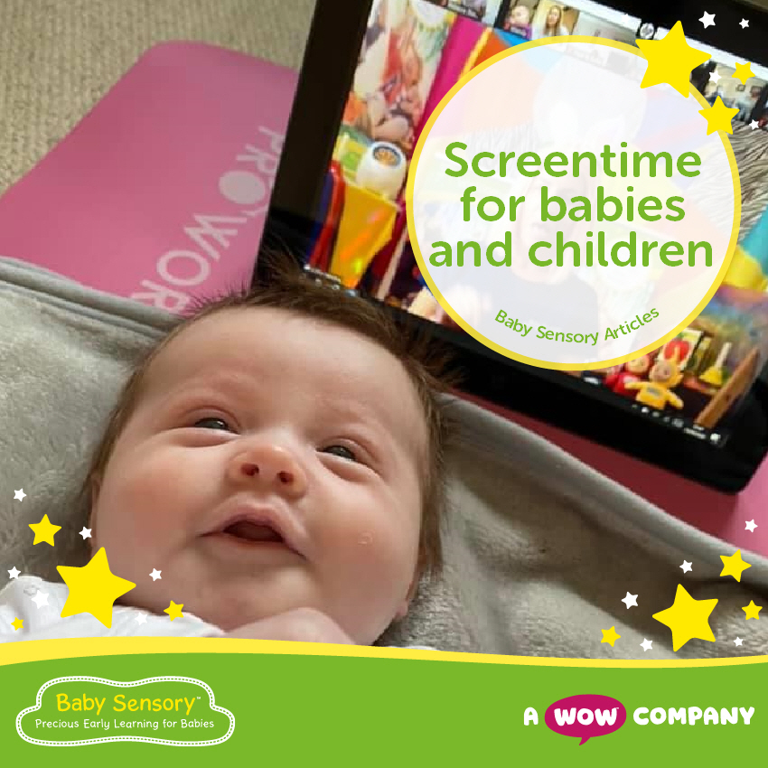 Screentime for Babies and Children